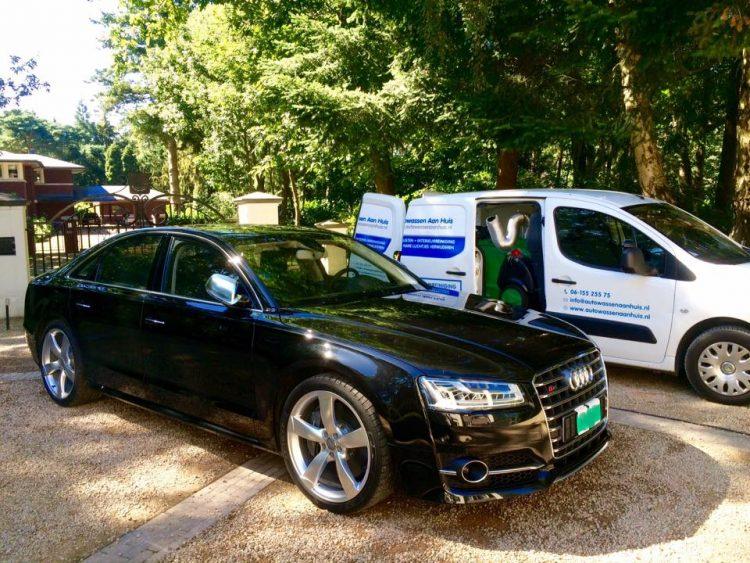 Audi S8 gepoetst