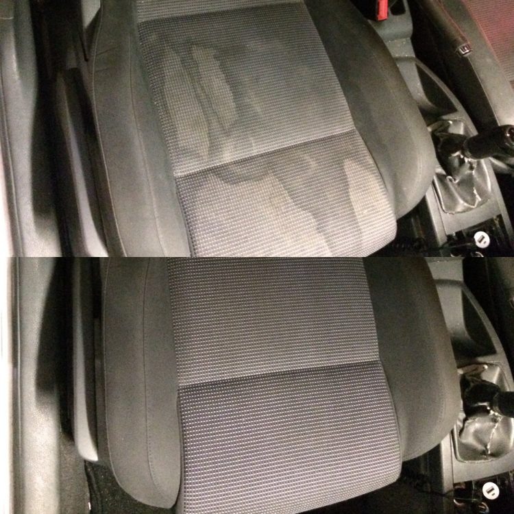 auto bekleding reinigen