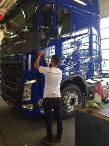 Truck polijsten