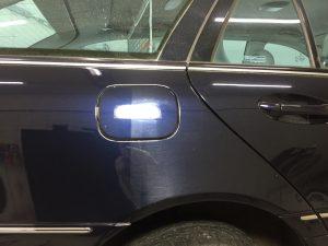 Polijsten auto